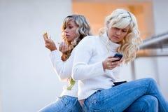Teenagers lifestyle Stock Photo