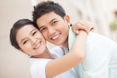 Teenagers in love Royalty Free Stock Photo