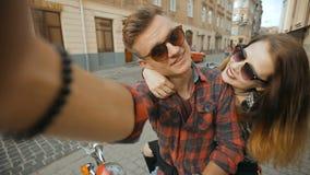 Teenagers Makes Selfie stock video footage