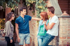 Teenagers Outside Stock Photos