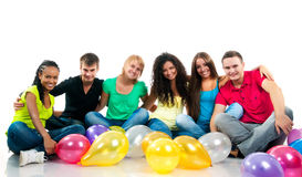 Teenagers party Royalty Free Stock Photography