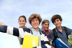 Teenagers portrait Royalty Free Stock Image