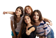 Teenagers portrait Royalty Free Stock Photography