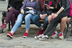 Teenagers Royalty Free Stock Photos