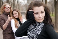 Teenagers' troubles Stock Photography