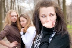 Teenagers' troubles Stock Photo