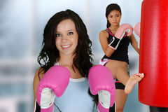 Teenagers Workout Royalty Free Stock Images