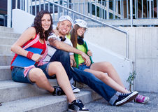 Teens 18 Royalty Free Stock Photo