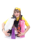 Teens_bags Royalty Free Stock Photography