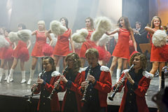Teens brass orchestra Royalty Free Stock Images
