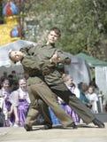 Teens dancing royalty free stock photos