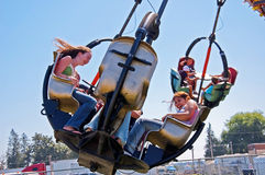 Teens Enjoy Carnival At Northwest Washin Stock Photo
