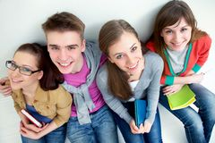 Teens - friends Stock Images