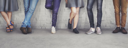 Teens Friends Hipster Fashion Trends Concept Royalty Free Stock Photos