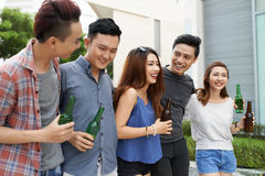 Teens' leisure Royalty Free Stock Images