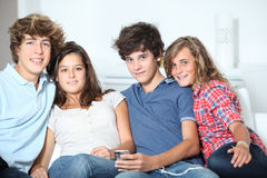 Teens leisure time Royalty Free Stock Images