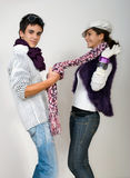 Teens in love Royalty Free Stock Photography