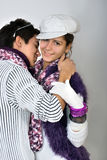 Teens in love Royalty Free Stock Photos