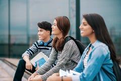 Teens outdoors Stock Photos