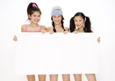 Teens and Sign Stock Photography
