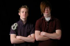 Teens Standing Royalty Free Stock Image