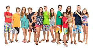 Teens summer Royalty Free Stock Photo
