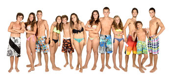 Teens summer Royalty Free Stock Photos