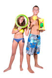 Teens summer Stock Photos