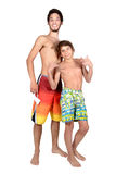 Teens summer Stock Photo