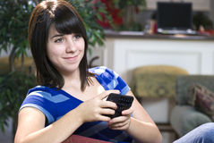 Teens Technology Text Messages Royalty Free Stock Images