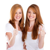Teens thumbs up Stock Image