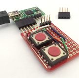 Teensy circuit board with addon Stock Photos