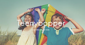 Teenybopper Young Children Youth Kids Concept Royalty Free Stock Photo