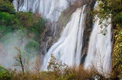 Teeorsu vattenfall Royaltyfri Fotografi