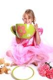 Teeparty lizenzfreie stockfotografie