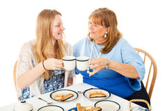 Teeparty für Mutter-Tag Lizenzfreies Stockfoto