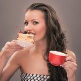 Teeparty von einer Lizenzfreies Stockbild