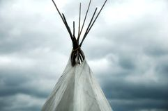 Teepee Stock Photo