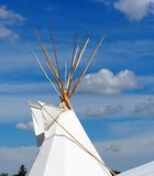 Teepee And Blue Summer Sky Royalty Free Stock Image