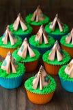 Teepee Cupcakes Stock Photos