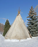 Teepee di Traditionnal. Fotografie Stock