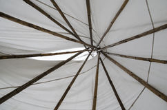 Teepee interior Stock Image