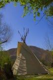 Teepees в Death Valley стоковое изображение rf