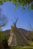Teepees in Death Valley Royalty Free Stock Image