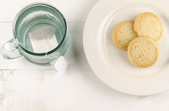 Teeplätzchen schließen herauf 2 Lizenzfreie Stockbilder