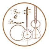Teer & Kaman eps Stock Afbeeldingen