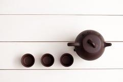 Teesatzhintergrund lizenzfreie stockfotos
