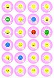 Teeschale emoji Lizenzfreie Stockbilder