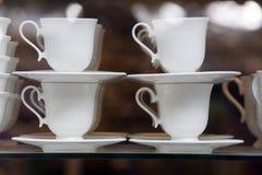 Teeschalen Stockfotos