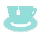 Teeschalenikone Stockfoto